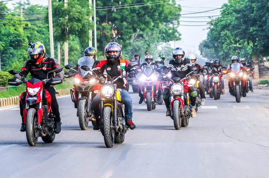 Ducati and Indian Motorcycle organise Independence Day ride