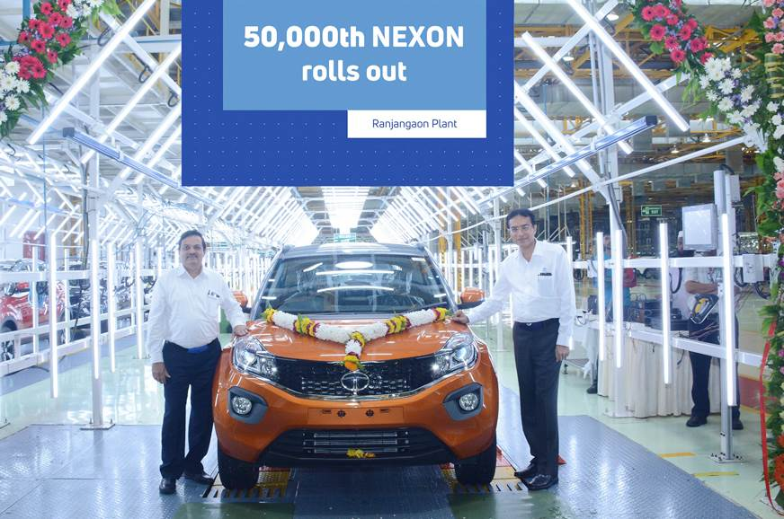 50,000th Tata Nexon rolls out