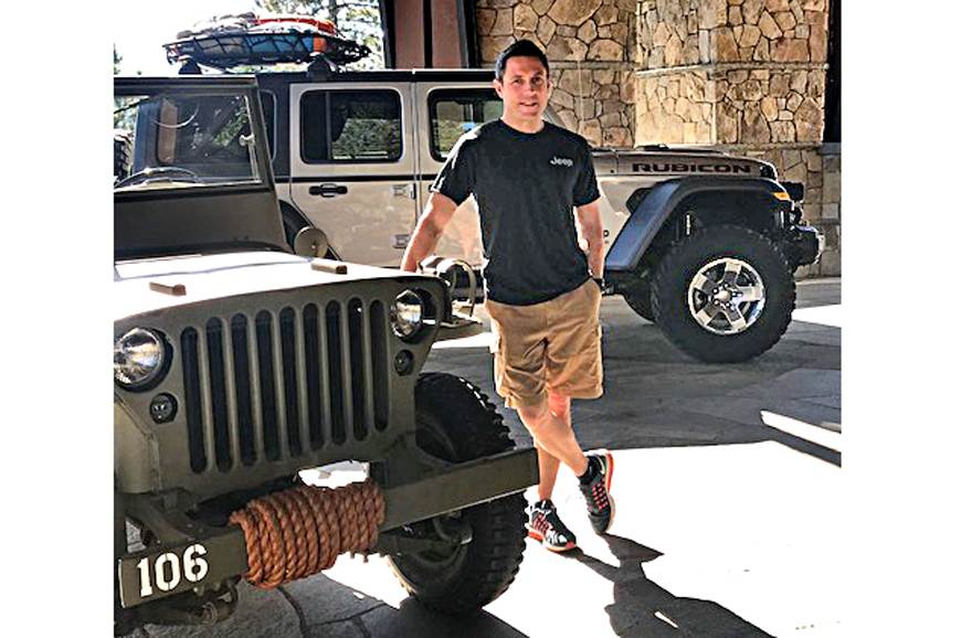 Steve Zanlunghi, Head of Jeep (APAC region)