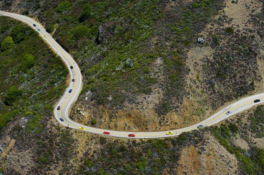 Dream Drive rally marks reopening of California's iconic Highway 1