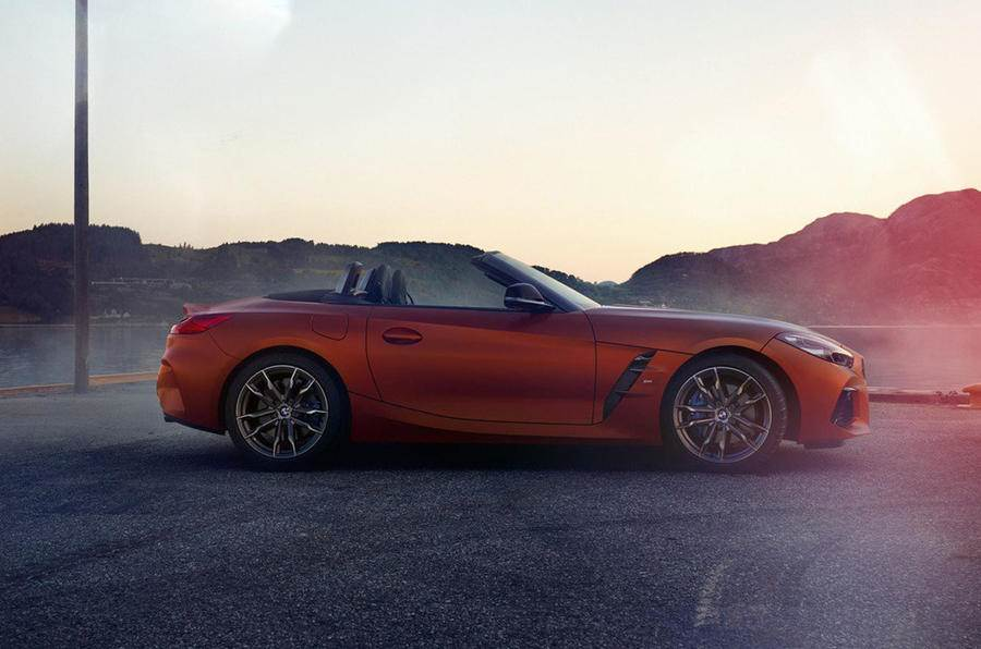 2019 BMW Z4 M40i: more images leaked