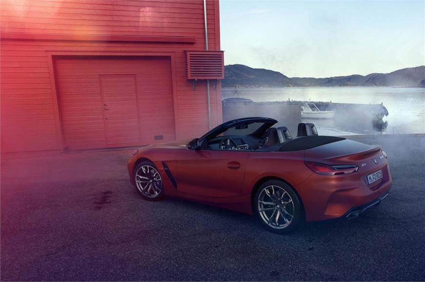 2019 Bmw Z4 M40i More Images Leaked Autocar India