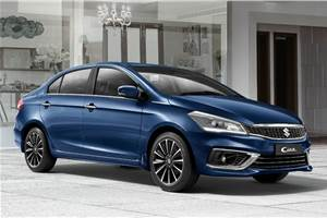 2018 Maruti Suzuki Ciaz launched at Rs 8.19 lakh
