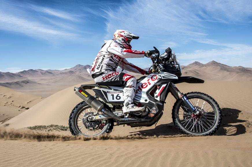 Hero MotoSports successfully completes Atacama Rally