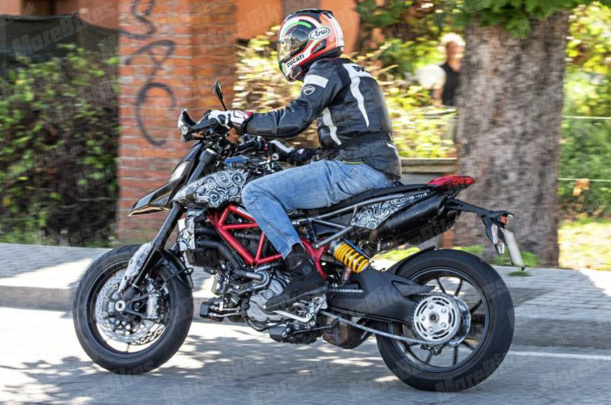 2019 Ducati Hypermotard caught testing