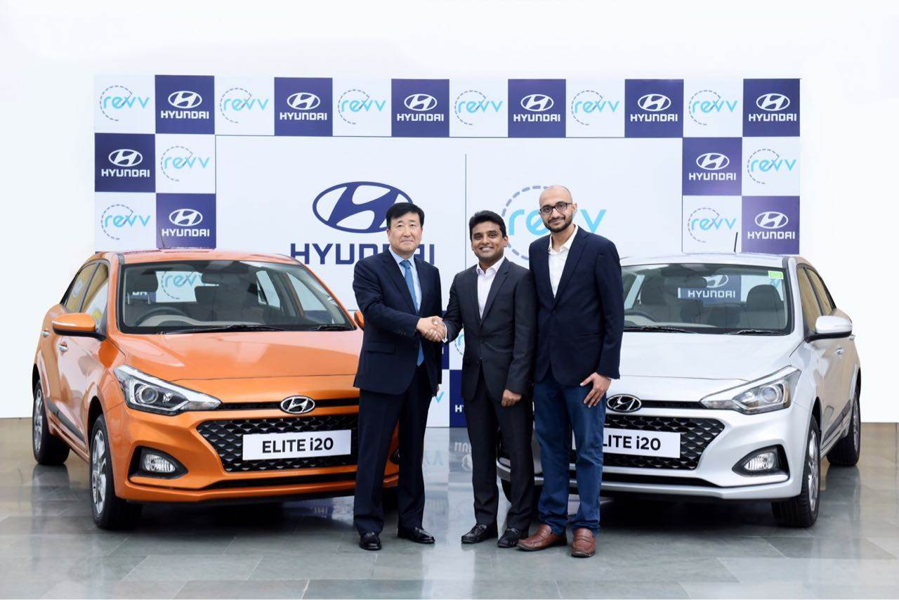 Hyundai partners with Revv for car sharing service
