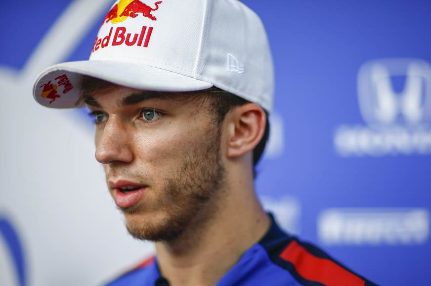 Gasly to partner Verstappen at Red Bull