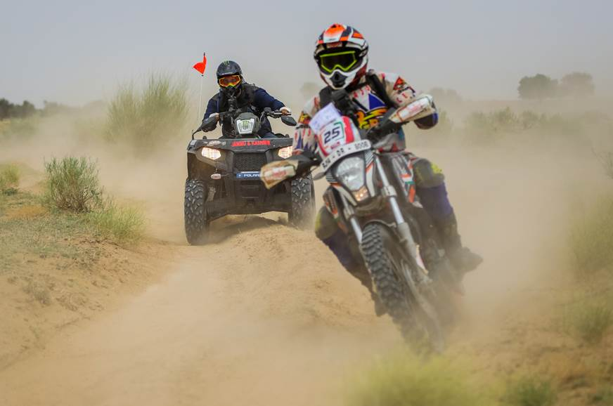 2018 India Baja: Arindam Saikia and Lorenzo Santolino emerge victorious