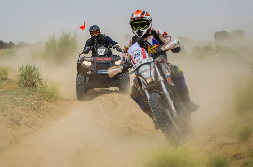 2018 India Baja: Arindam Saikia and Lorenzo Santolino eme...
