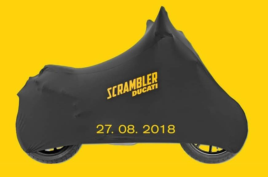 Ducati Scrambler 1100 India launch on August 27