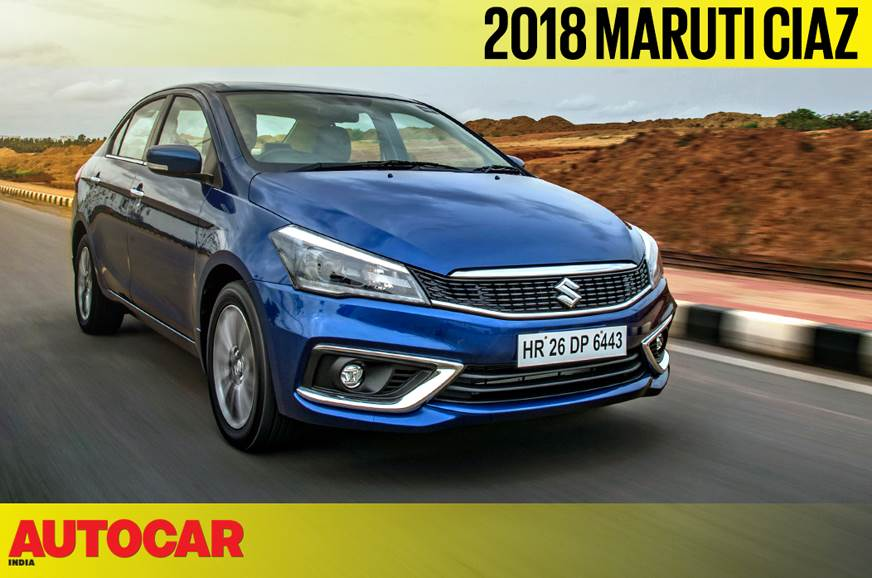 2018 Maruti Suzuki Ciaz petrol SHVS video review
