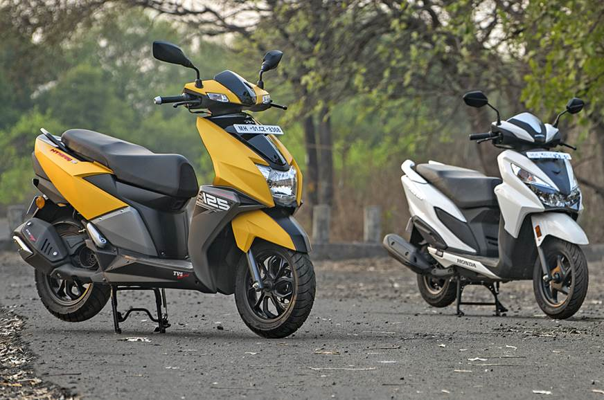 TVS NTorq sells more than Honda's Grazia again in July