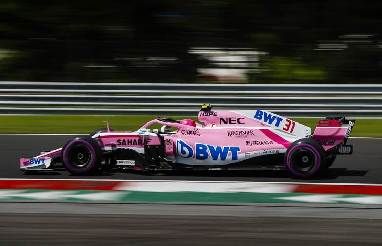 Force India renamed Racing Point Force India