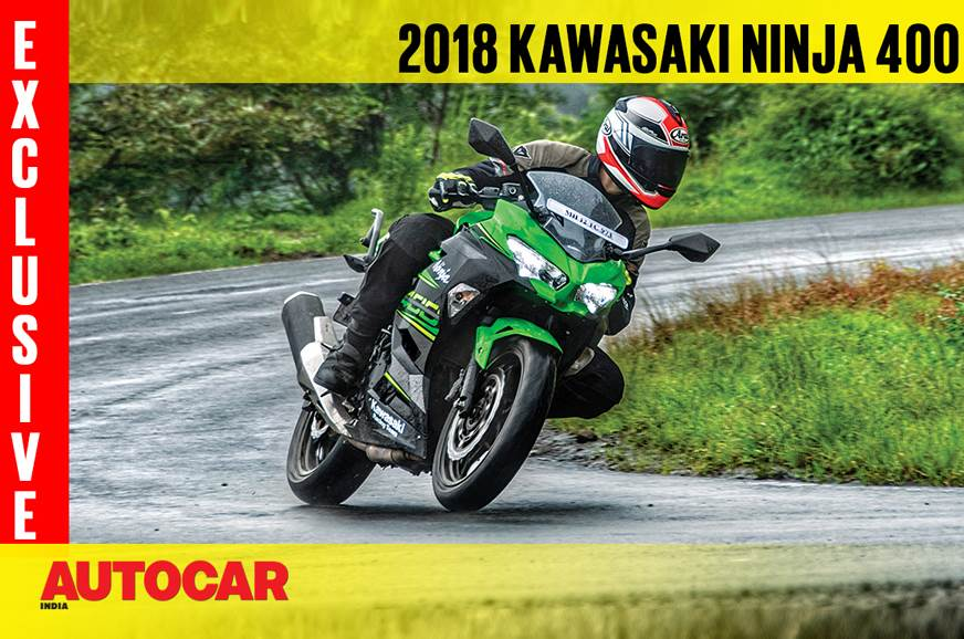 2018 Kawasaki Ninja 400 video review