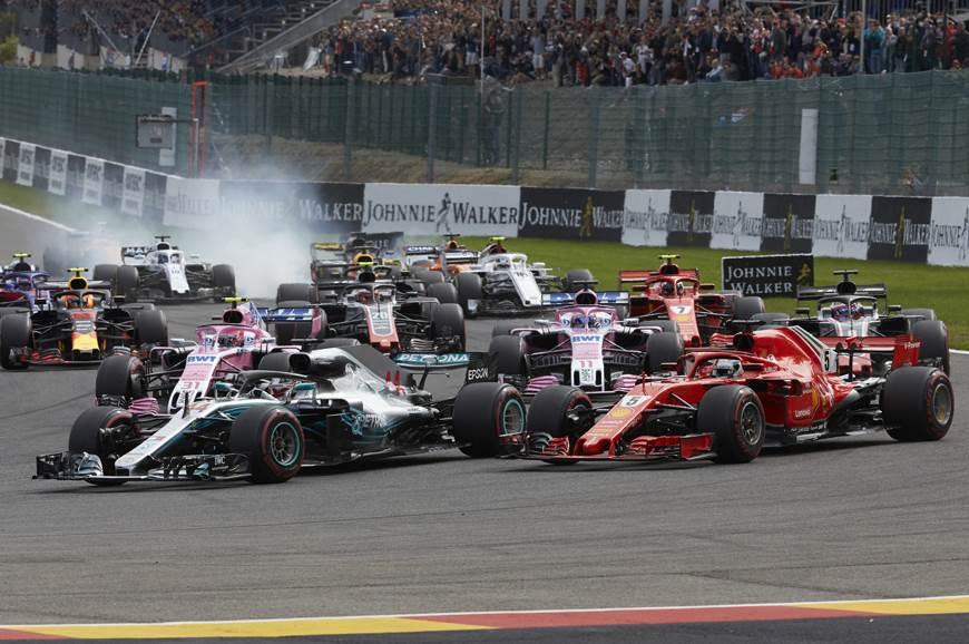 Vettel defeats Hamilton to win 2018 Belgian GP