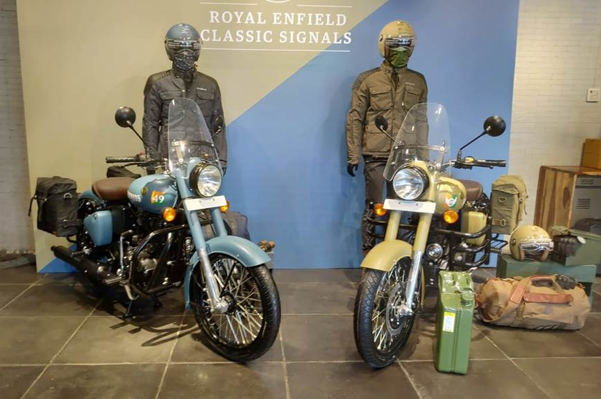 2018 Royal Enfield Classic Signals 350 ABS launched at Rs 1.62 lakh