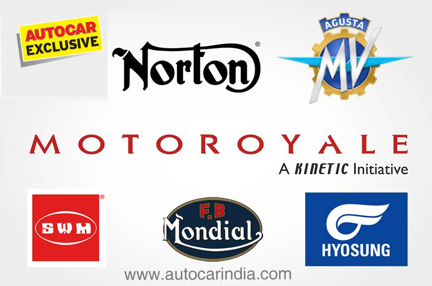Motoroyale to retail 5 brands starting September 2018