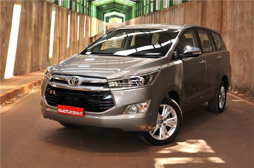 The Toyota Innova Crysta GX will get a touchscreen infota...