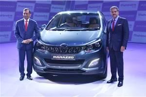 2018 Mahindra Marazzo launched at Rs 9.99 lakh