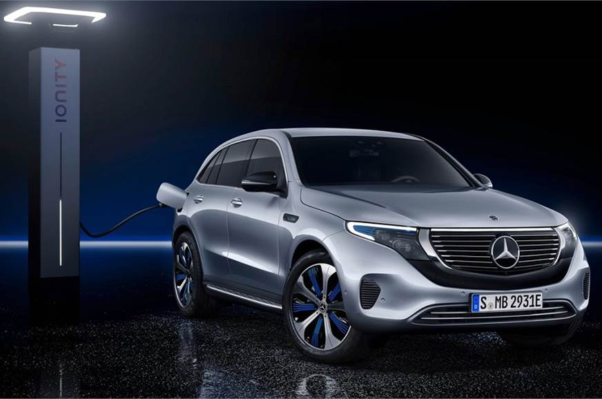 EQC is Mercedes-Benz's first dedicated electric model.