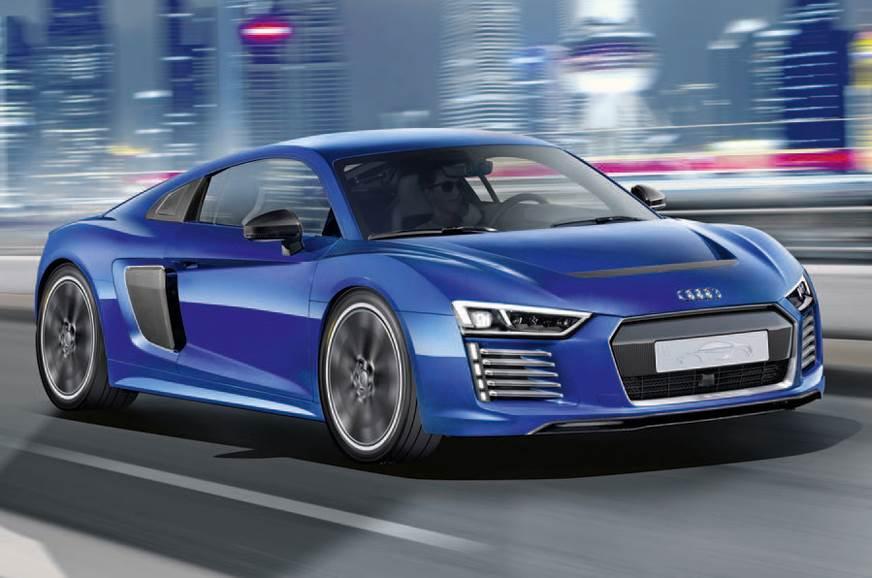 The Audi R8 e-tron