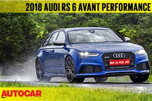 2018 Audi RS6 Performance video review