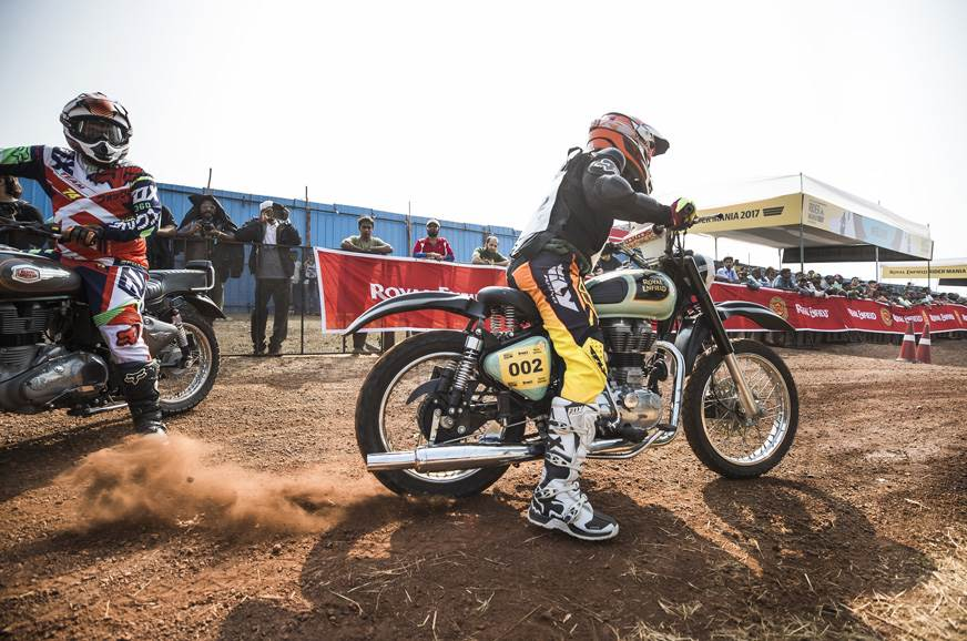 Rider Mania Dirt Track