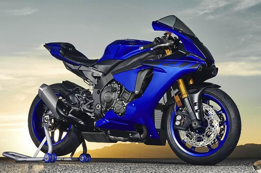 The latest Yamaha YZF-R1.