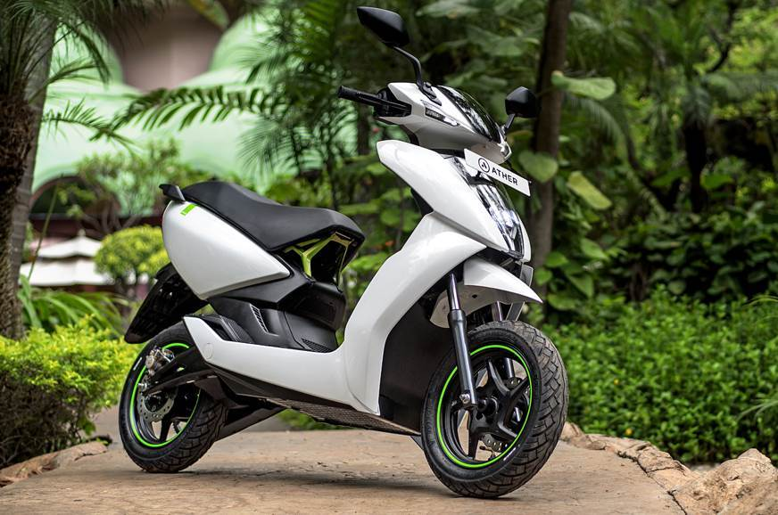 The Ather 450 is priced at 1.25 lakh (on-road, Bengaluru).