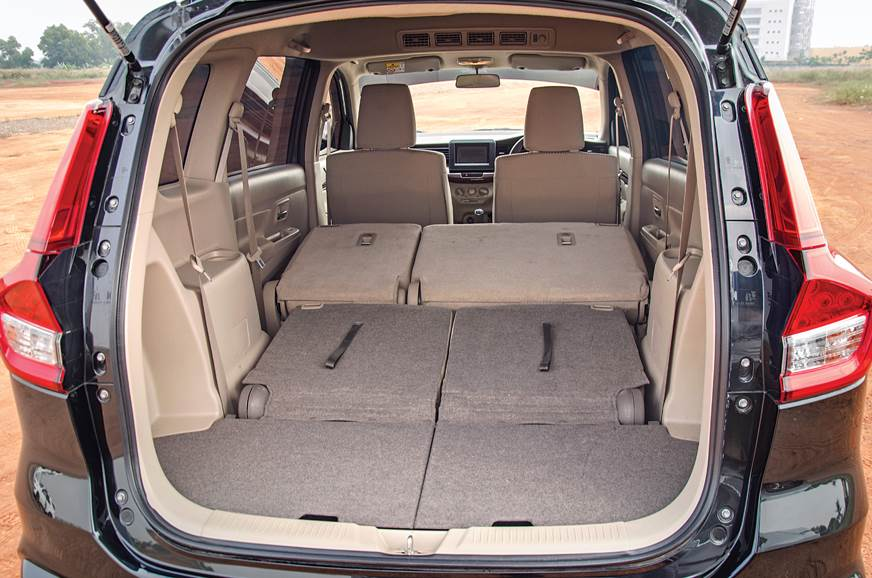 Boot space increases to 803 litres, with second and third...