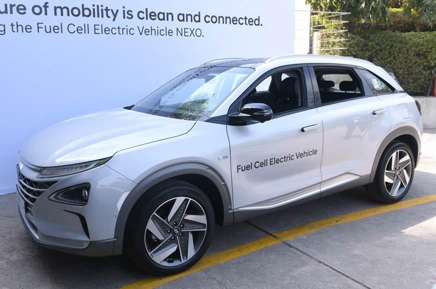 Hyundai Nexo FCV.