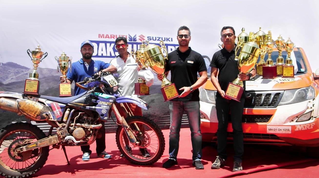 Gaurav Gill wins 2018 Dakshin Dare