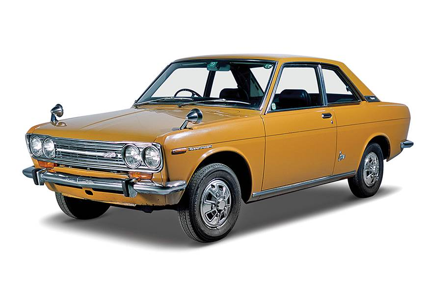 In 1958 a Datsun 210 won its class in the Australian Rall...