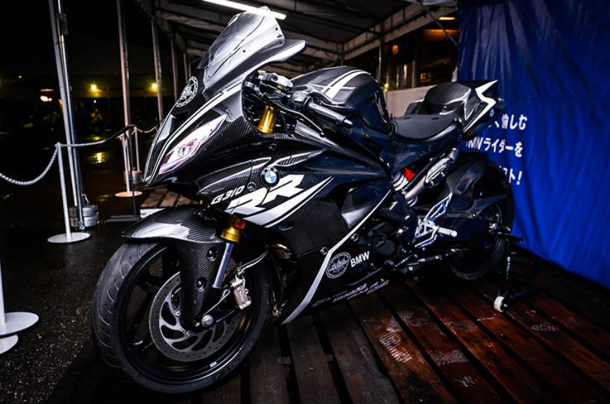 BMW G 310 RR concept motorcycle.