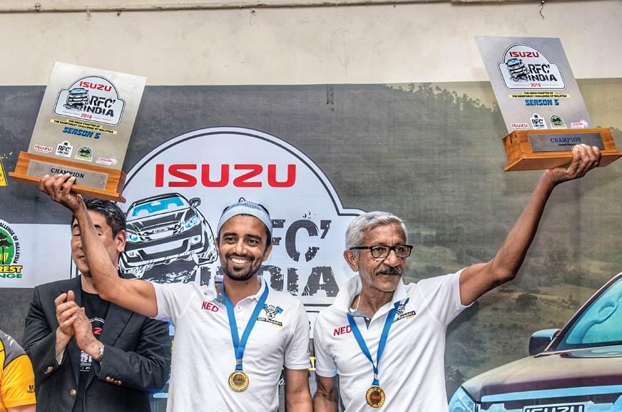Jagat Nanjappa and Chethan Changappa, winners of the 2018...