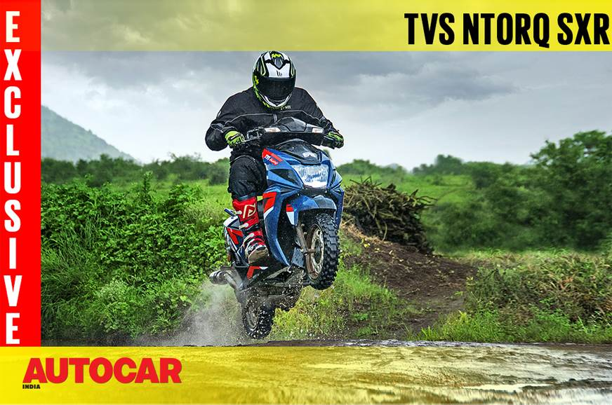 2018 TVS Ntorq SXR video review