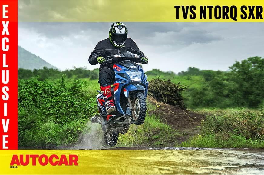 2018 TVS Ntorq SXR video review