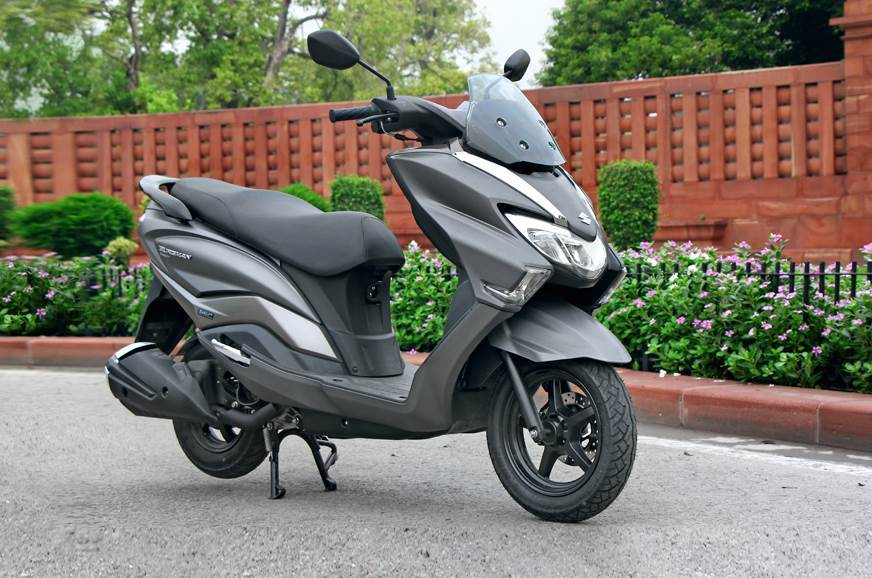 The new Suzuki Burgman Street 125.