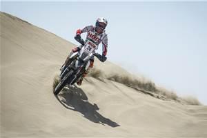 CS Santosh secures 14th place at the Peru Desafio Inca rally