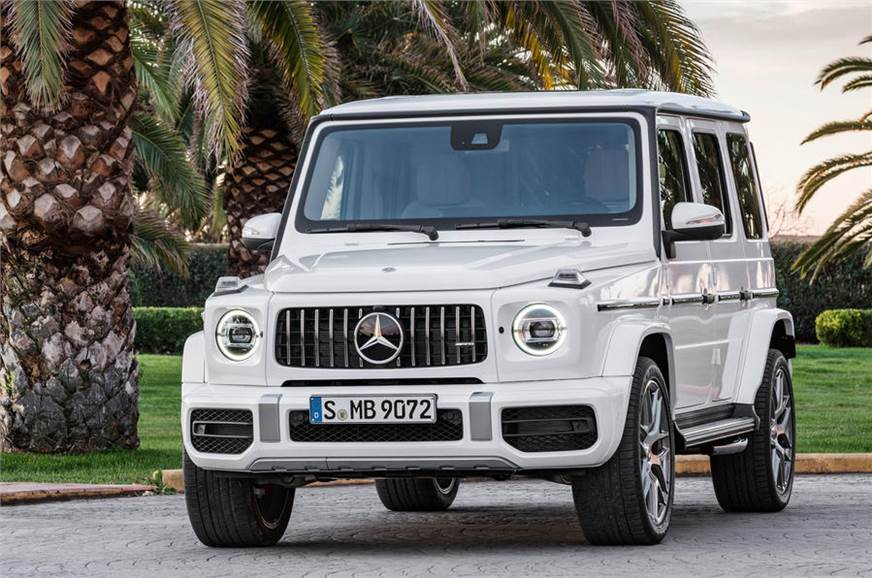 2018 Mercedes-AMG G 63 launch on October 5