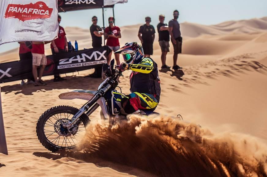 Sherco TVS Factory rider Michael Metge wins PanAfrica Rally