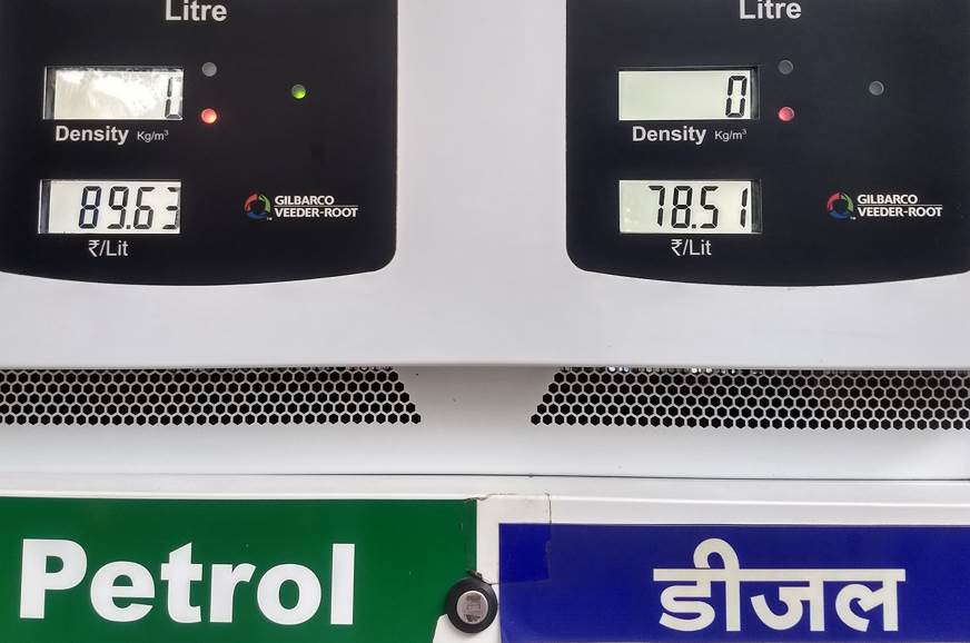 petrol prices touch rs    maharashtra cities autocar india