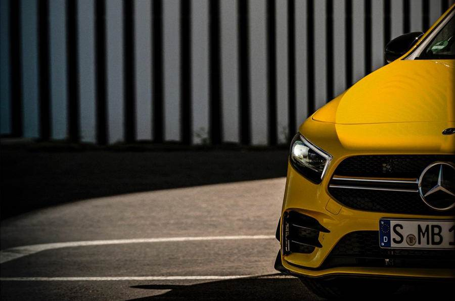 New Mercedes-AMG A 35 teased before Paris debut
