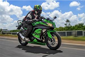 2018 Kawasaki Ninja 300 review, test ride