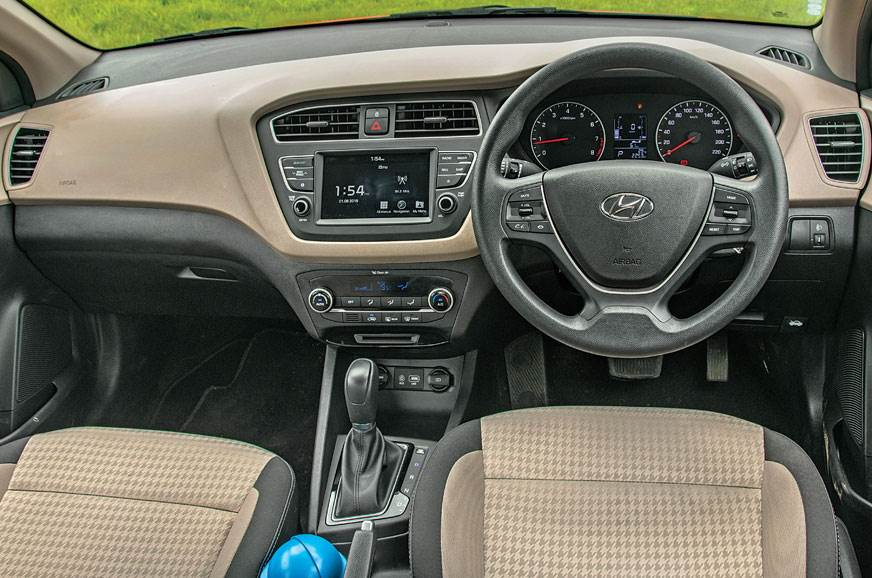 i20's cabin feels premium thanks to quality plastics and ...