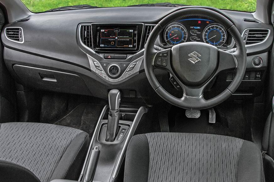 Baleno dashboard is neat but quality of plastics and some...
