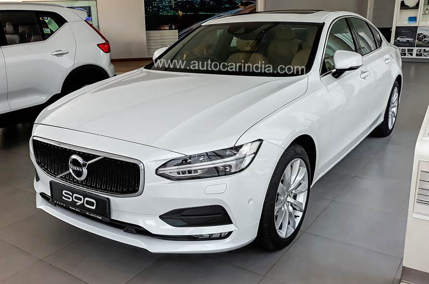 Volvo S90 range now starts from Rs 51.90 lakh