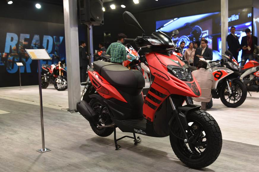 Aprilia Storm 125 India launch by early 2019