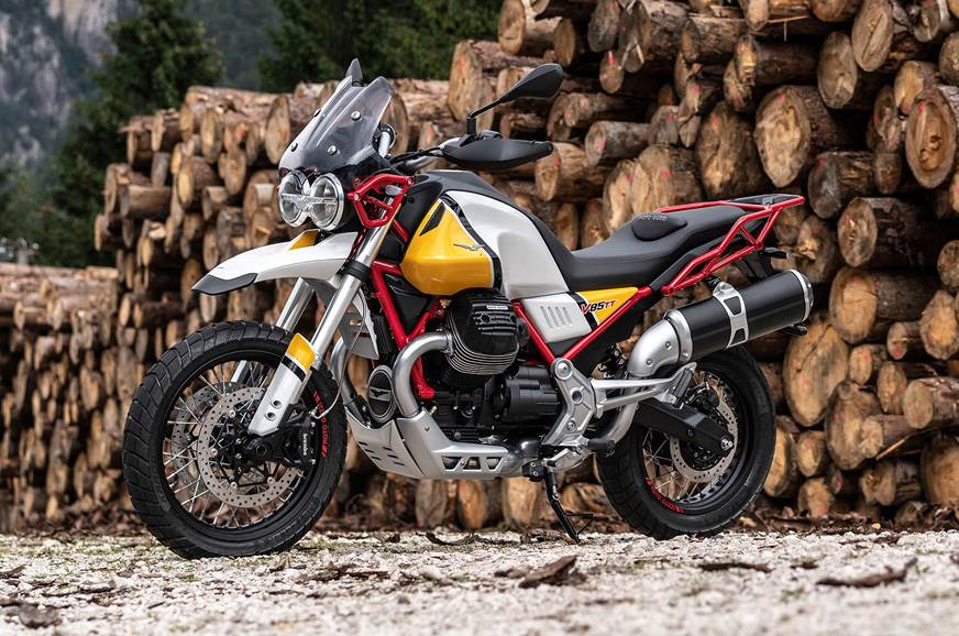Production-ready Moto Guzzi V85 TT revealed