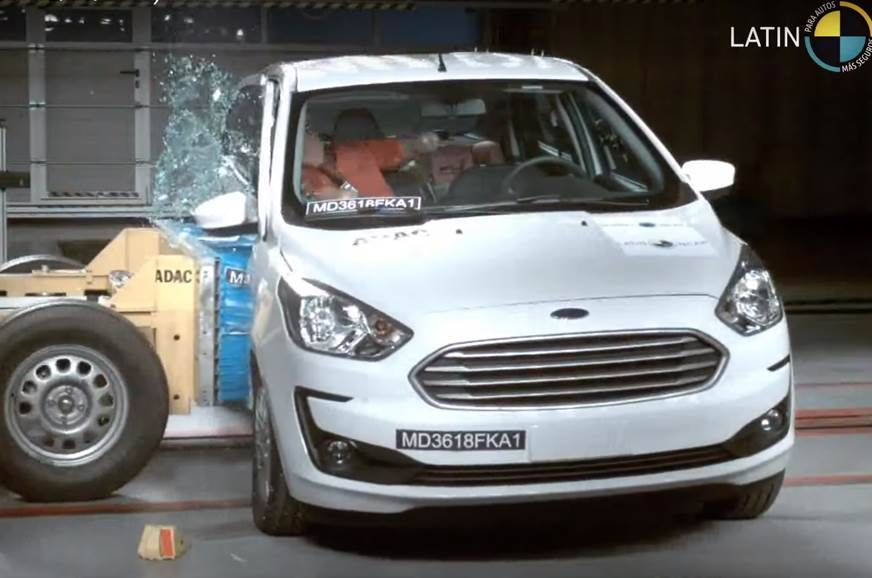 Ford Figo facelift (Ka) gets three-star Latin NCAP rating